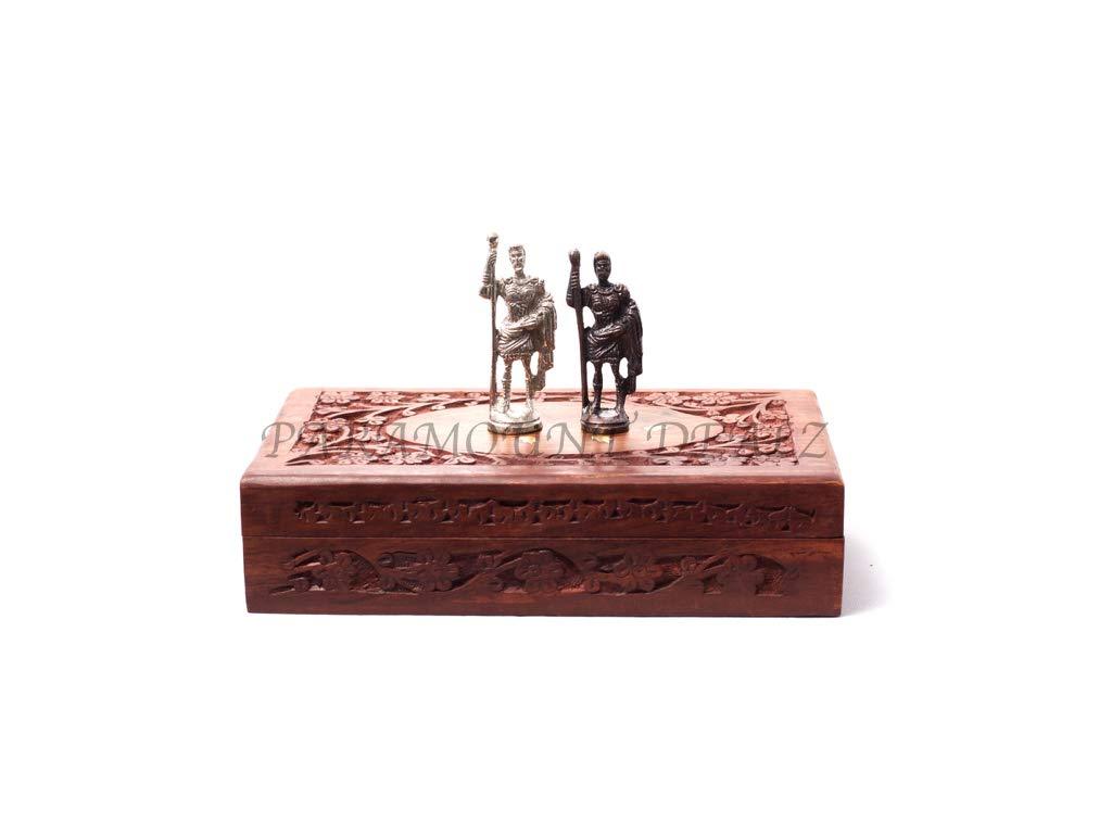 Roman brass metal set