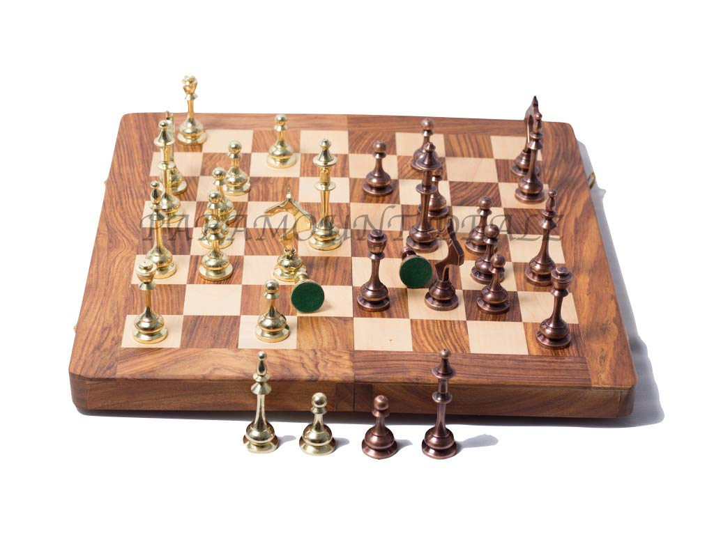 Middle of a chess game