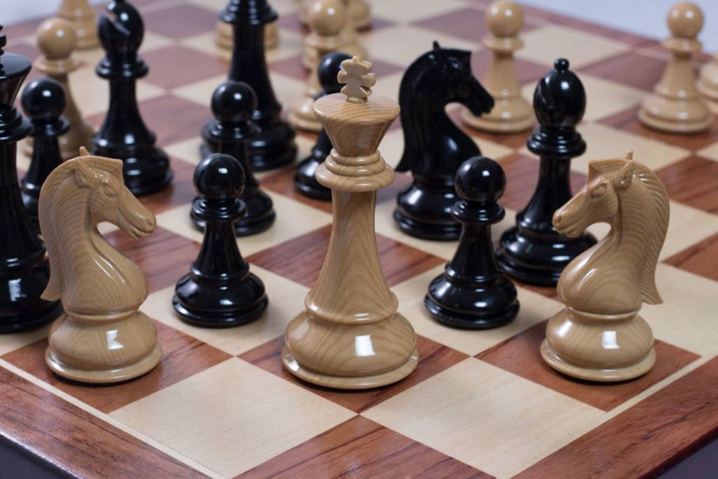 The different pieces of chess