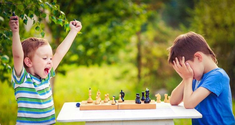 Sportsmanship,chess,children