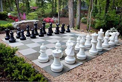 2 Feet King height Giant Garden Chess Pieces