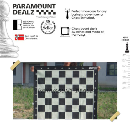 8 Inches Plastic Giant Chess Set