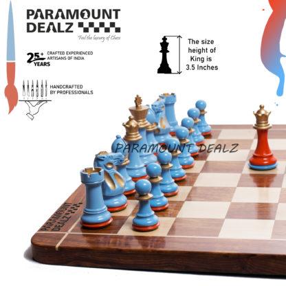 Aluminium luxury metal chess in India