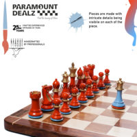 Aluminium luxury metal chess in India