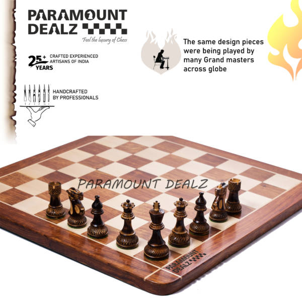 Wooden chess India