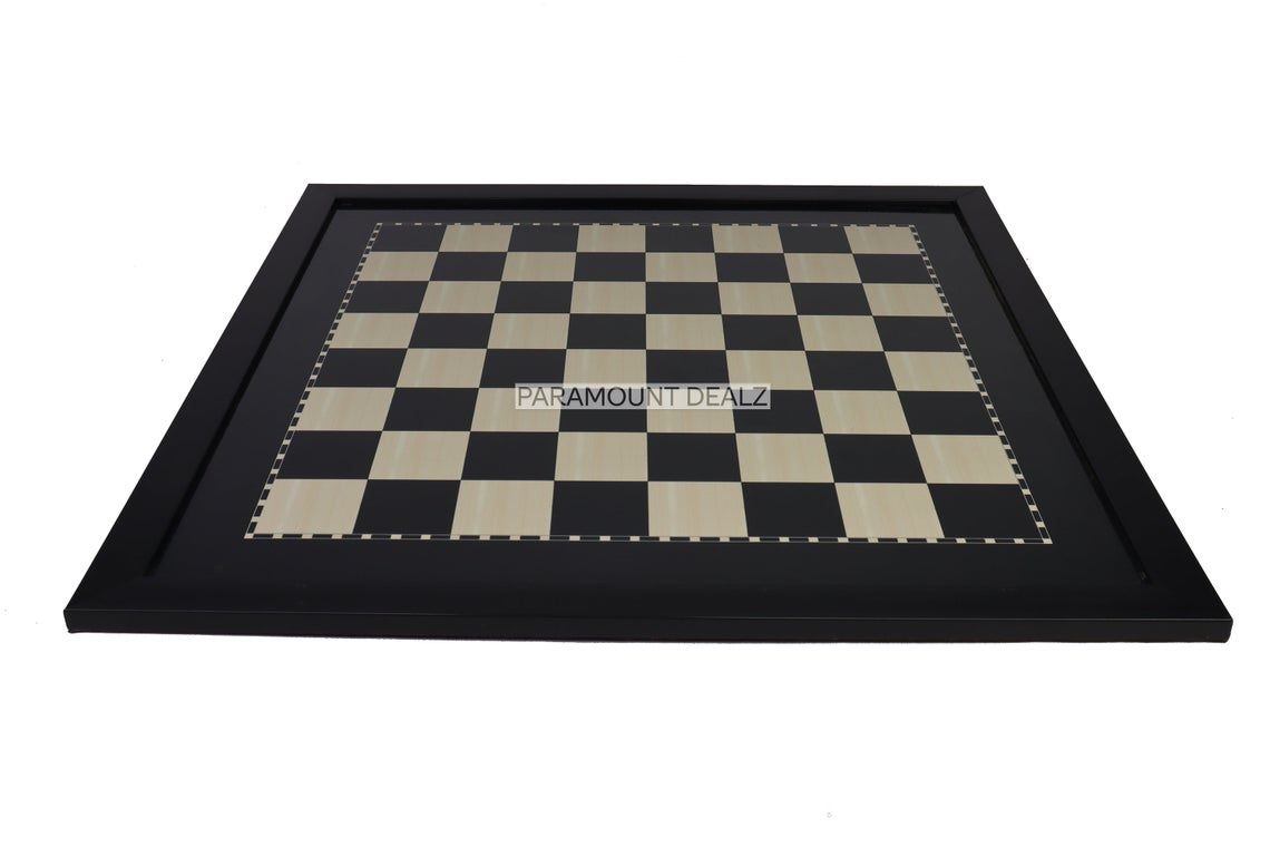 Paramount Dealz Wooden Laminated Chess Board Game Set with Pieces and Carry Case | Handcrafted and Made from  Engineering Wood