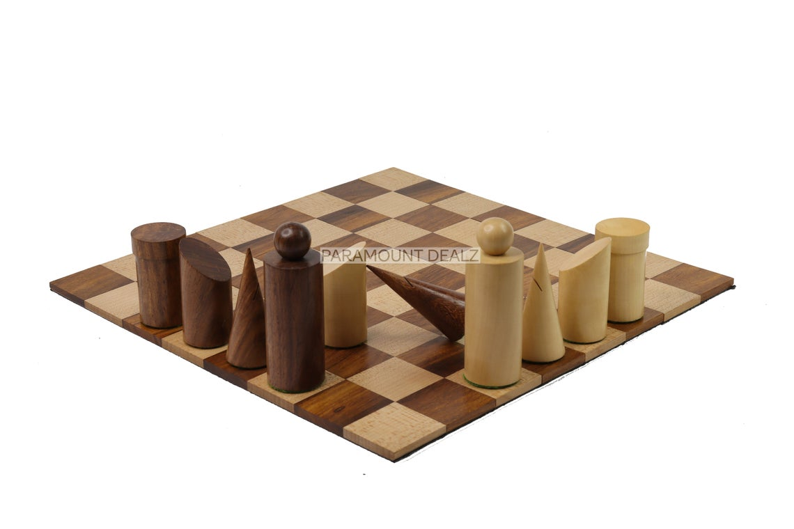 """12"""" Wooden Roll Up Foldable Chess Board Set with Wooden Chess Pieces - Made from Premium Quality Boxwood & Ebonized Wood"""