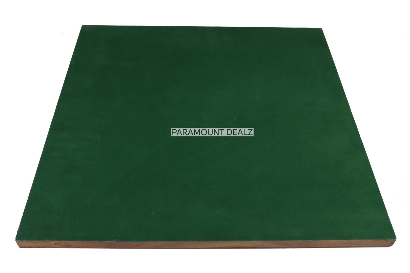 "WOODEN CHESS BOARD EBONY SHEESHAM WOOD 19"" - 50 MM"